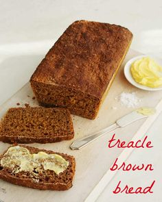 Molasses and hard cider keep this treacle brown bread tender and moist. Serve with Irish butter or your favorite jam!
