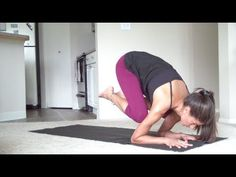 How to Baby Crow - Intermediate yoga arm balance