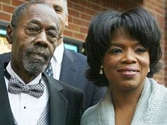 Oprah Winfrey and father