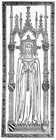 Eleanor de Bohun (1399); Eleanor was invested as a Lady Companion, Order of the Garter in 1384. She became a nun sometime after 1397 at Barking Abbey.