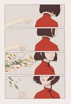 『 轉 ᴬⁿᵉ ᵒᶠ ᵗʰᵉ ʷⁱˡᵈ ʰᵘⁿᵗ 轉 』 Manga Anime, Sad Anime, Manga Art, Anime Art, Big Fish, Dissociation, Begonia, Arte Digital, Miraculous Ladybug