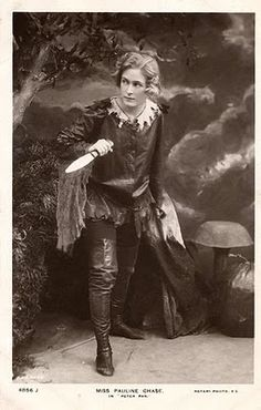 Pauline Chase, J.M. Barrie's favorite Peter Pan actress