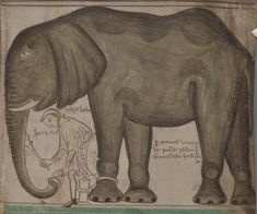 On this day 2nd Febuary in 1255 Louis IX of France presented to Henry III one of the wonders of the age, an African elephant, to exhibit in the Royal Menagerie in the Tower of London. Surviving records indica…cont...