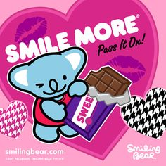 Nibbling On A Block Of Choc!    http://smilingbear.com/blog/nibbling-on-a-block-of-choc      #smilingbear #smilemore #koala #koalabear #bear #koalified #koalification #smile #smiling #happy #cute #kawaii #australia #sydney #beach #art #fashion #design #illustration #characterdesign #fun #iphonesia #japan #kawaiigurls #kawaiioftheday #nibbling #chocolate