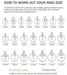 Ladies Ring Size Chart Printable Australia Bing Images