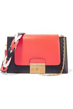 MULBERRY Pembroke color-block leather shoulder bag