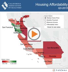 Press Release: Higher interest rates lower California housing affordability in third quarter