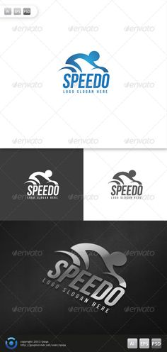 Speed Bike Logo — Photoshop PSD #sport #bicycle • Available here → https://graphicriver.net/item/speed-bike-logo/6083300?ref=pxcr