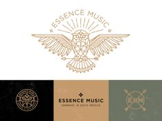 Essence Music Identity by Brian Steely