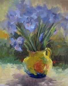Birthday Bouquet by Mary Maxam Oil ~ 20 x 16