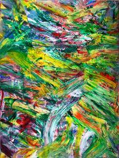"Saatchi Art Artist Nestor Toro; Painting, ""Vernal Intrusion "" #art"