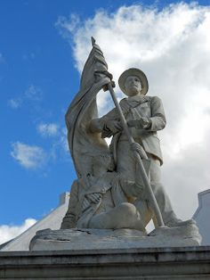 Graaff-Reinet has a lot of monuments . I wrote about the Gideon Scheepers Monument and the War Memoria. South African Air Force, War Memorials, Armed Conflict, Pretoria, My Land, African History, Sailors, Hercules, Bible Scriptures