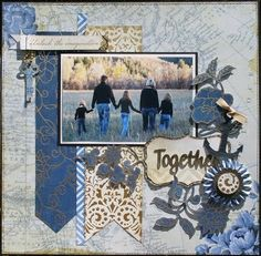 Great site with sketches of layouts. Includes the real scrapbook page created based on the sketch.