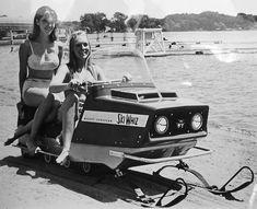 vintage snowmobile - Google Search