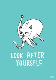 Look After Yourself by gemma correll