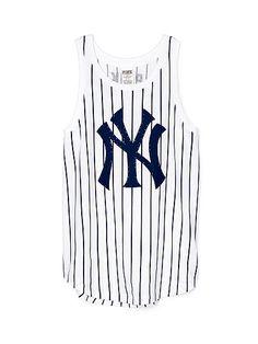 New York Yankees Muscle Tank - PINK - Victoria's Secret