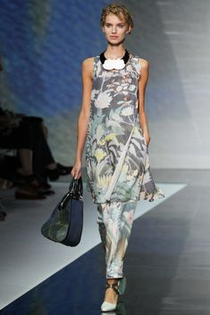 Emporio Armani - Spring/Summer 2014 Milan Fashion Week