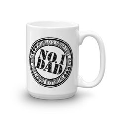 NO. 1 DAD World's greatest dad Mug