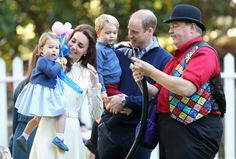 The Royal Tour: See Prince George and Princess Charlotte at Peak Cuteness with balloon fun