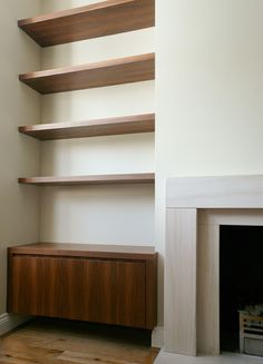 5 Prodigious Useful Ideas: Fireplace Built Ins With Tv fireplace living room tutorials. Fireplace Bookshelves, Fireplace Built Ins, Modern Fireplace, Cozy Fireplace, Fireplace Ideas, Alcove Bookshelves, Fireplace Candles, Country Fireplace, Craftsman Fireplace