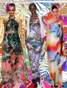 Rainbow Tropics - Spring 2013 Trends