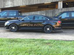 Houston Police Department Ghost Ford Interceptor