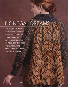 Vogue Knitting - Early Fall Обсуждение на LiveInternet - Российский СYou can find Vogue knitting and more on our website. Knitting Paterns, Knitting Yarn, Vogue Knitting, Knitting Magazine, Volleyball Players, Donegal, Jacket Pattern, Knit Cardigan, Tweed