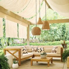 Checking Out Patio Area Layouts – Outdoor Patio Decor Outdoor Hanging Lights, Outdoor Light Fixtures, Outdoor Lighting, Outdoor Decor, Outdoor Furniture, Lighting Ideas, Wooden Furniture, Lighting Solutions, Furniture Projects