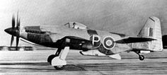 First flight of the Martin-Baker MB 5 prototype fighter 23/4 1944.
