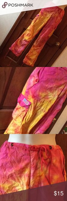 UFO tie dyed pants medium UFO tie dyed pants medium UFO Pants Track Pants & Joggers
