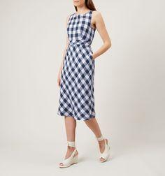 Myra Gingham Dress