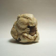 Резьба по бивню мамонта. Олег Дорошенко: alionushka1