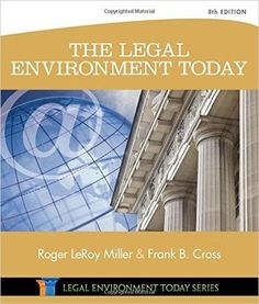 Test bank for introduction to business law 5th edition by beatty the legal environment today 8th edition by roger leroy miller author isbn fandeluxe Image collections