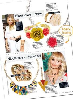 LouLou October 2012 - Press pages @ Merx Inc. Music Garden, Capital Of Canada, Israeli Jewelry, Royal Ontario Museum, Aztec Art, Coming Up Roses, International Film Festival, Toronto, October