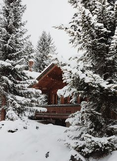 Image shared by Katerina. Find images and videos about white, nature and winter on We Heart It - the app to get lost in what you love. I Love Winter, Winter Snow, Winter Time, Winter Christmas, Christmas Lodge, Cabin In The Woods, Snowy Woods, Winter Cabin, Snow Cabin