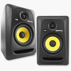 2x-NEW-KRK-RP5G3-NA-Rokit-5-Generation-3-Powered-Studio-Monitors-Speakers-Pair