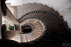 Spiral staircase of the König Spa aka.