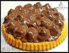 CROSTATA MORBIDA RICOPERTA DI BIGNÈ, CON IL BIMBY RICETTA DI: MARIA MANFREDELLI Ingredienti: Per la crostata morbida 180 g farina 100 g zucchero