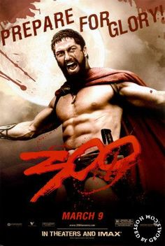"Gerard Butler as ""King Leonidas"" in 300"