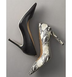 This classic stiletto adds leg-lengthening lift and timeless appeal to an elegant pointy-toe pump.