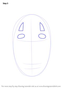 Learn How to Draw No-Face from Spirited Away (Spirited Away) Step by Step : Drawing Tutorials Learn Drawing, Learn To Draw, Drawing Tutorials, Art Tutorials, Desk Decorations, Spirited Away, Easy Drawings, Art Ideas, Artsy