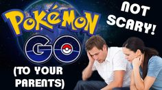 How to Make Pokemon GO Not Scary (To Your Parents) #gaming #games #gamer #videogames #videogame #anime #video #Funny #xbox #nintendo #TVGM #surprise