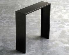 Console Irony H 100 cm - Acier noir - Zeus