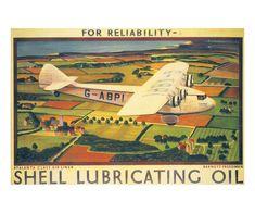 Atlanta Air Liner Reliability 1932, Art Print