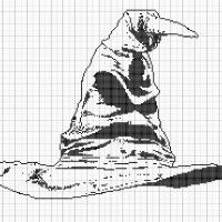 The Sorting Hat - Stitch Fiddle