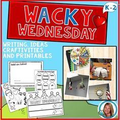 Dr. Seuss Week Activities   Wacky Wednesday