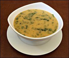 Sopa Creme de Grão de Bico e Espinafre