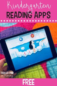 10 FREE Kindergarten iPad Apps • Tickled Pink in Primary