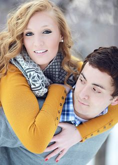couple pose, love how edited winter pictures♥ !!