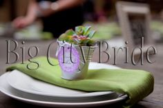 Unique place setting! #bigcitybride #chicagowedding  #chicagoweddings #chicago #wedding #weddings #weddingplanner #weddingplanners